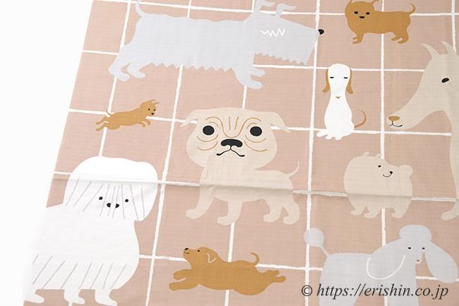 犬 風呂敷