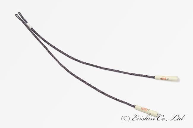 羽織紐(八津組/源氏鼠色・長羽織用)