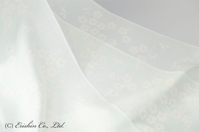 正絹ウォッシャブル絽長襦袢(撫子)