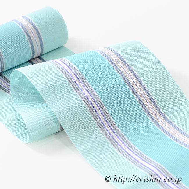 博多織 紗半幅帯 竺仙