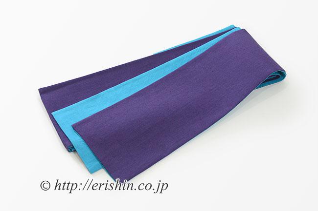 半幅帯 紫織庵 リバーシブル