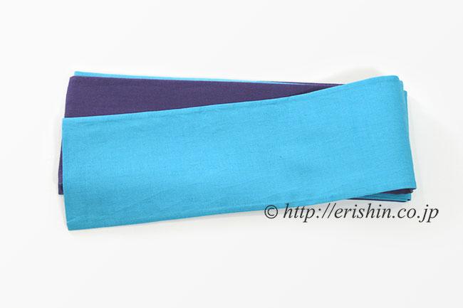 リバーシブル 半幅帯 紫織庵