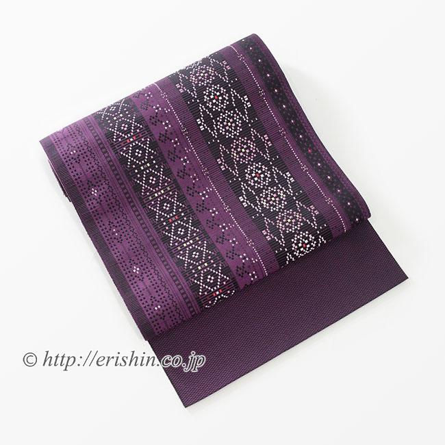 八寸織名古屋帯(花織/博多織)