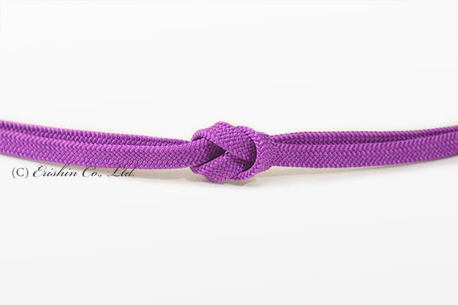 紅紫 帯締め 夏・単衣向き