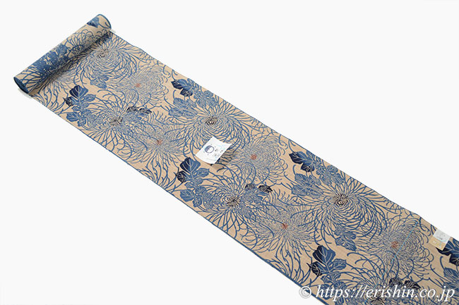 竺仙高級浴衣(奥州小紋)反物