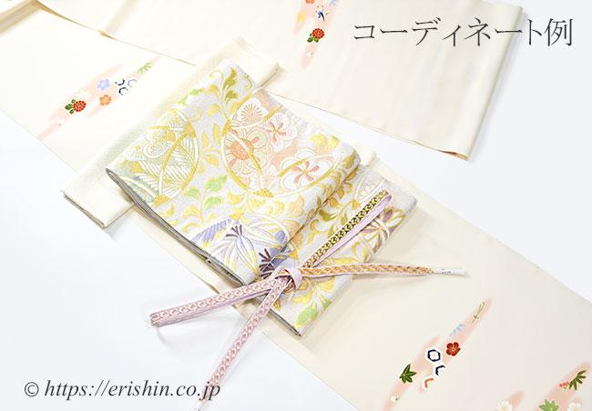 袋帯と付下のコーディネート例