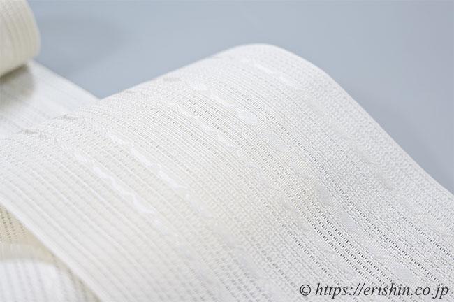 博多織 紗半幅帯