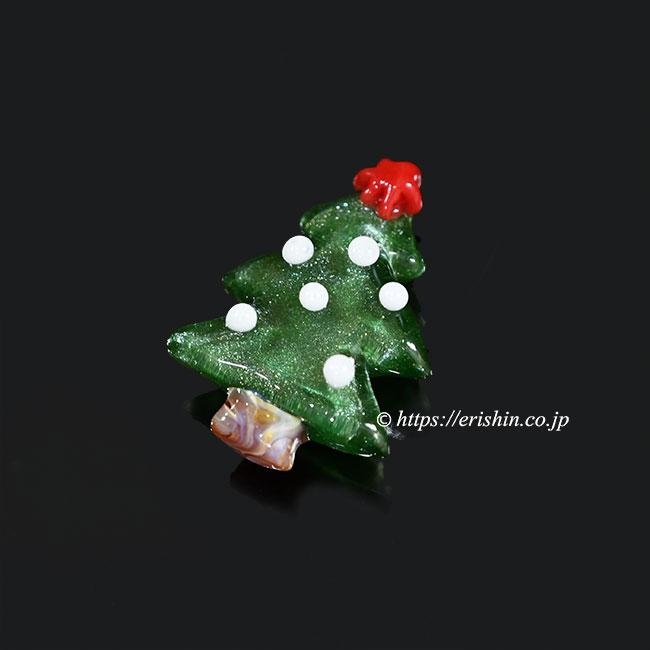 帯留め クリスマスツリー