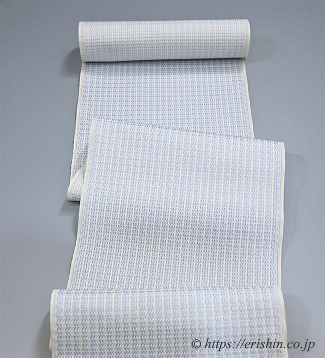 博多八寸織名古屋帯(浮遊/紗)