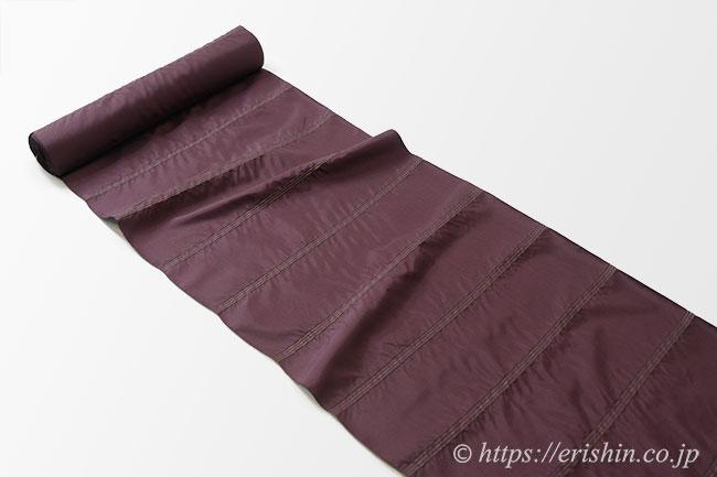 しじら織コート(雨コート兼用/紫鳶色)