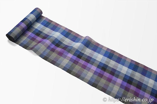 小千谷縮(格子)広巾