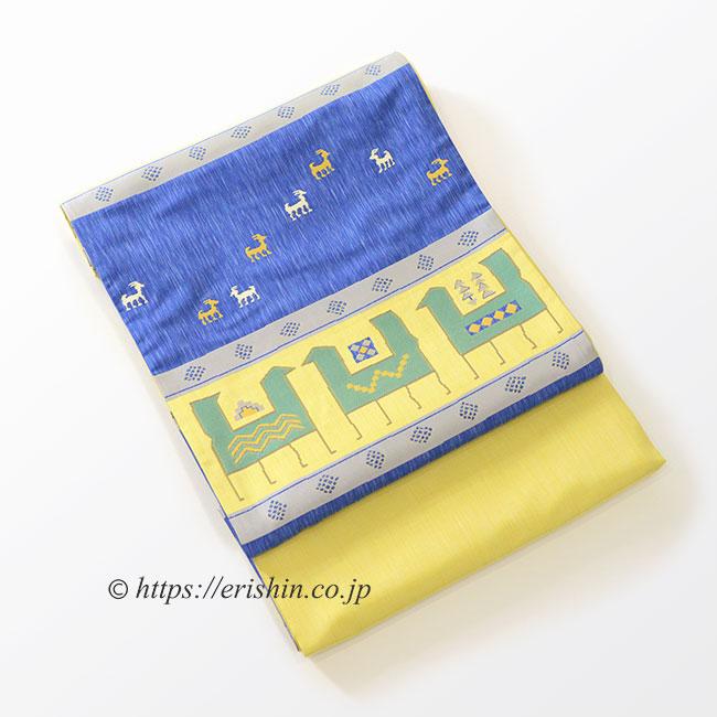 袋帯(遊牧文)