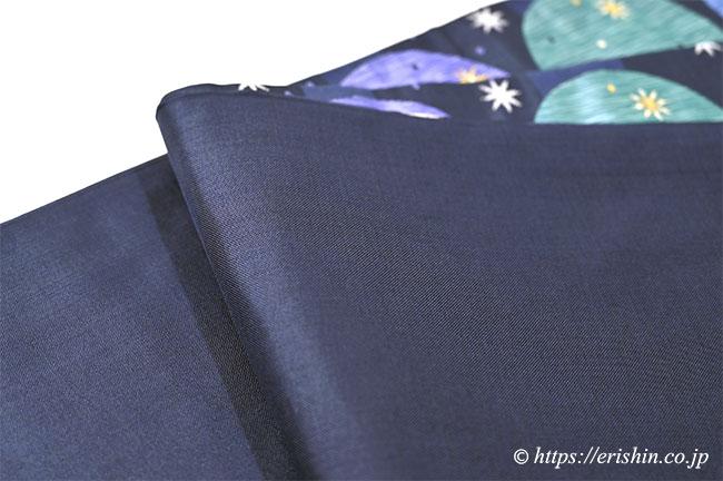 袋帯 木屋太 青かち色