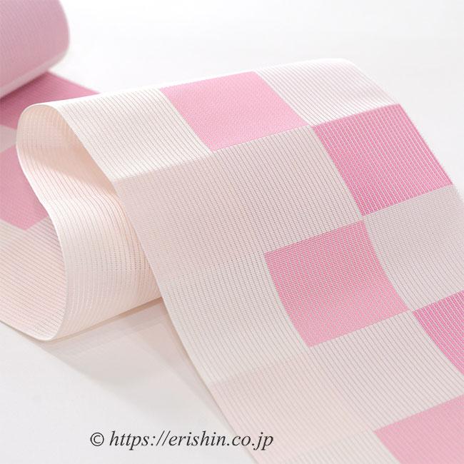 博多織 紗半幅帯 西村織物