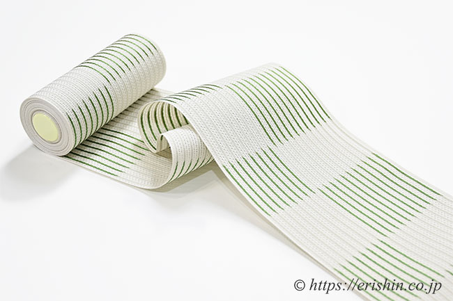 紗 半幅帯 博多織