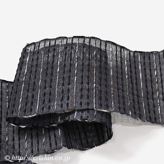 誉田屋源兵衛 芭蕉段織半幅帯