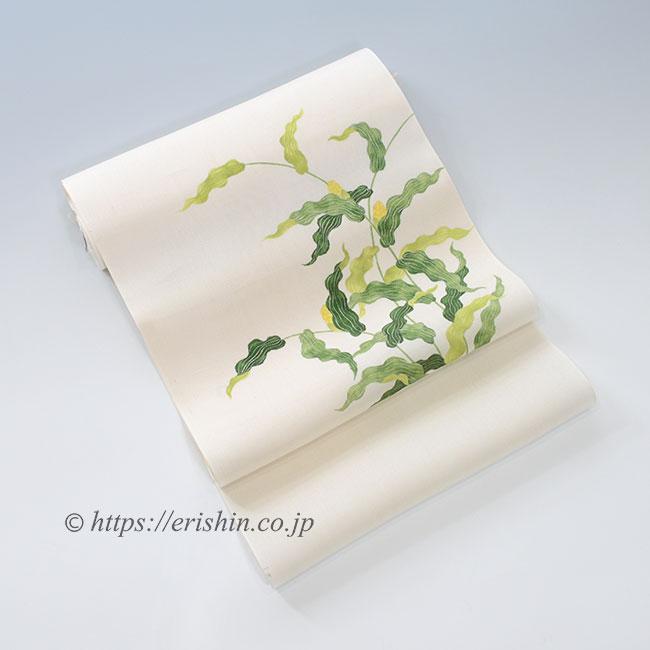 染名古屋帯(初夏の煌めき/紗紬)