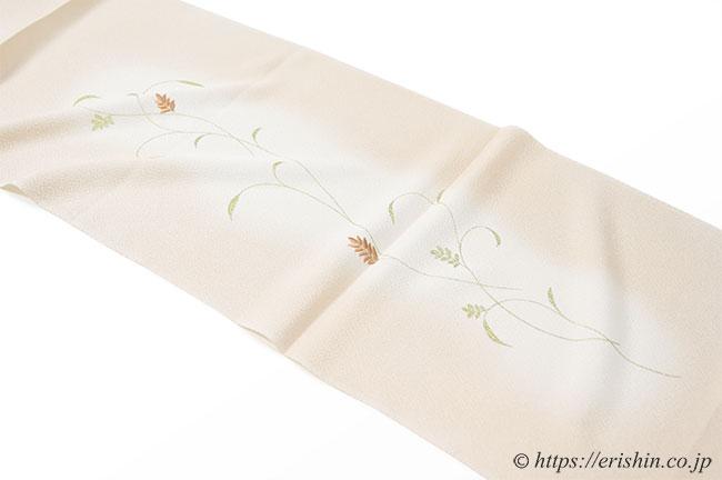 帯揚げ(金更紗/日本の絹)