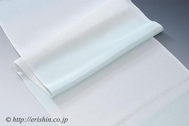 楊柳帯揚げ(段暈かし/白群) (単衣向き)