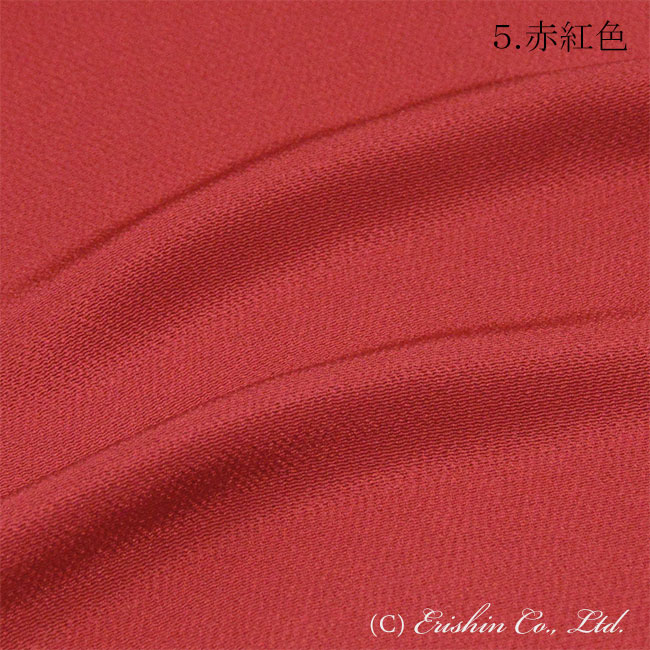 帯揚げ 赤紅色