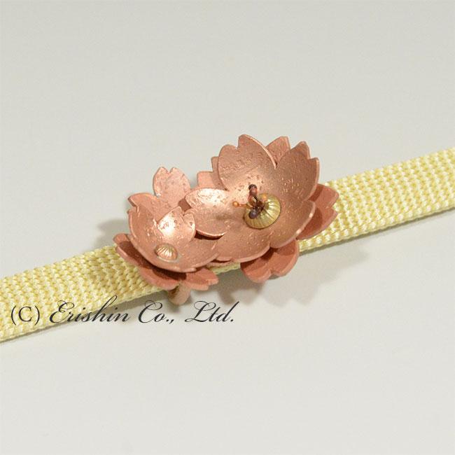 帯留め(桜)