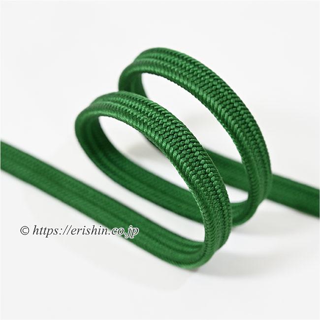 帯締め 平唐組 千歳緑