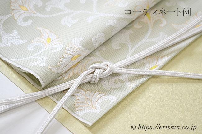 コーディネート例「薫衣に織名古屋帯」