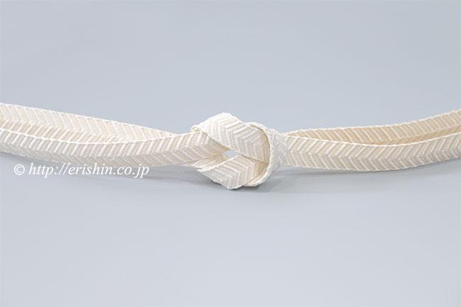 笹波組(暈し/乳白色×薄香色)夏・単衣向き