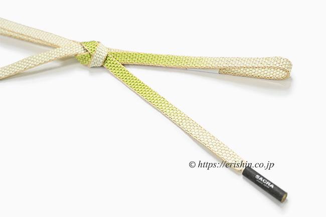 帯締め 貝の口亀甲組(葡萄色×京紫)
