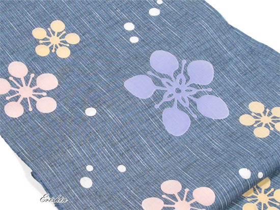 竺仙紬浴衣(ちくせんゆかた)画像2