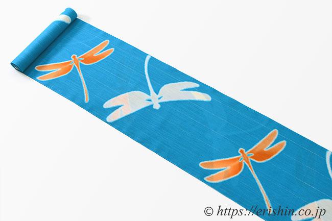 誉田屋源兵衛 浴衣(綿麻・トンボ)広巾