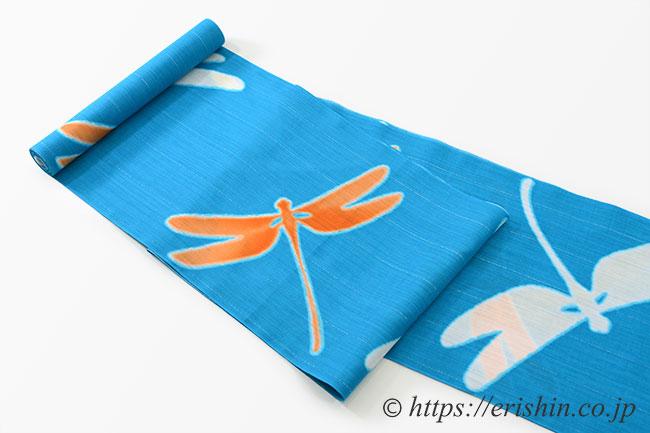 誉田屋源兵衛 浴衣(綿麻・蜻蛉)広巾