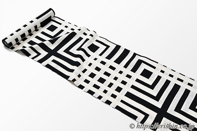 誉田屋源兵衛 浴衣(綿麻)広巾