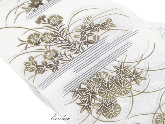 竺仙綿絽浴衣画像2